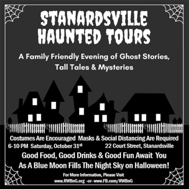 Stanardsville Haunted Tours – 10/31