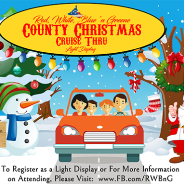 Christmas Cruise Thru and Light Display – December 12th!