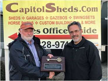 Capitol Sheds Continues Fireworks Display
