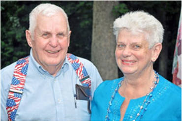 Burkholders Named 2018 Co-Grand Marshalls