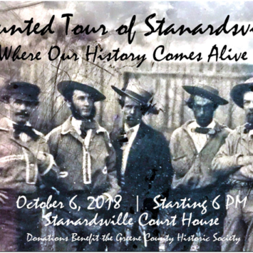 Haunted Tour of Stanardsville: Where Our History Comes to Life